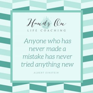 Anyone who has never made a mistake has never tried anything new – Albert Einstein