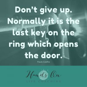 Don't give up. Normally it is the last key on the ring which opens the door.