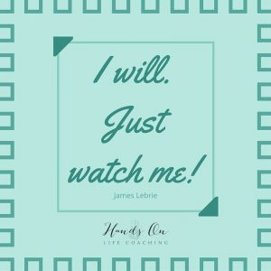 I will. just watch me