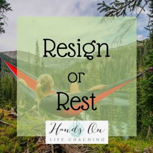 Resign or Rest Image