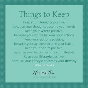 Things to Keep