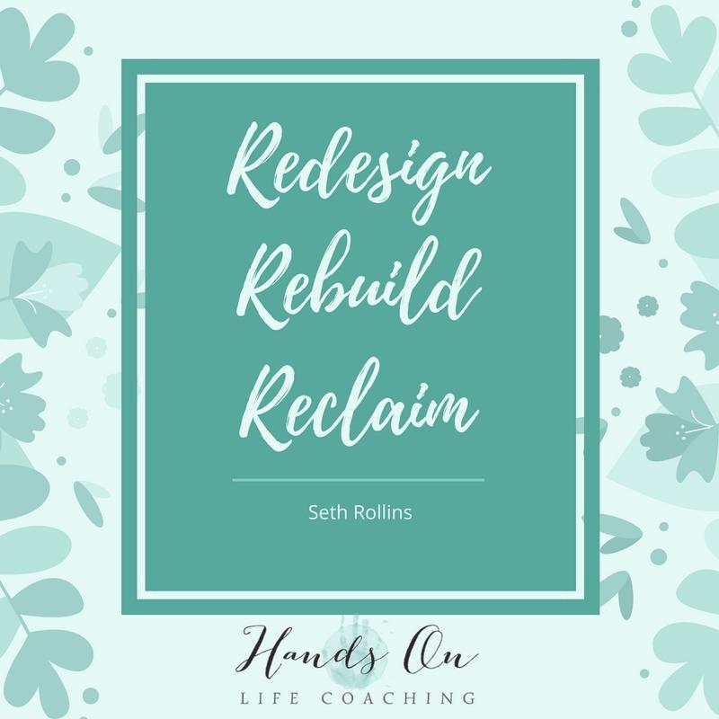 Redesign, rebuild
