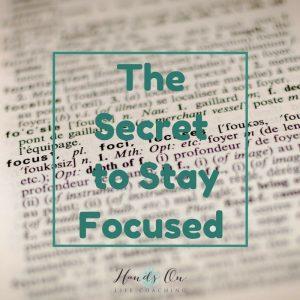 Key to Focus